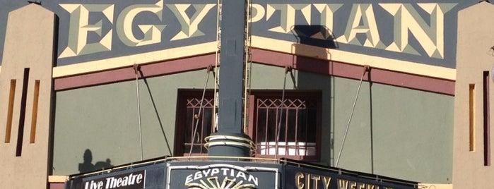 Egyptian Theatre is one of A Guide to Park City, UT.