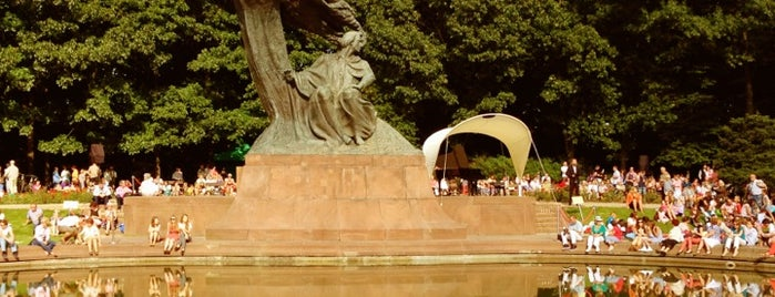 Pomnik Chopina | Chopin Monument is one of Warsaw.
