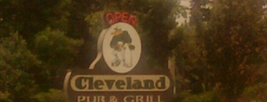 Cleveland Pub & Grill is one of M B.
