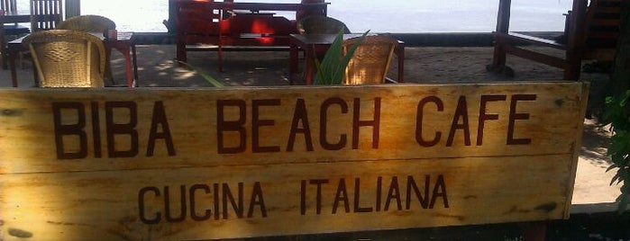 Biba Beach Cafe is one of best place in Lombok.