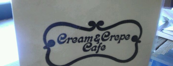 Creme & Crepe Cafe is one of Posti che sono piaciuti a Jen.