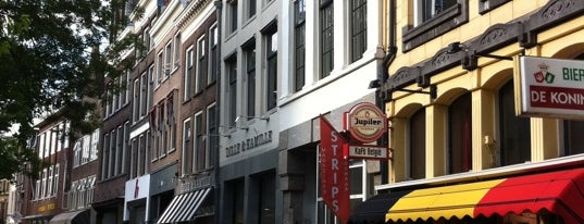Kafé België is one of Utrecht.