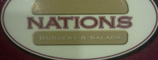 Nations Burgers & Salads is one of Franさんのお気に入りスポット.
