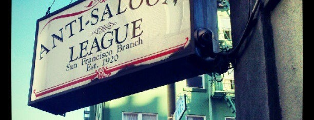 Bourbon & Branch is one of San Francisco.