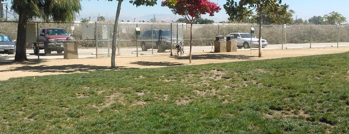 Reed Street Dog Park is one of California.