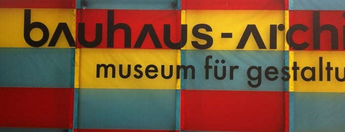 Bauhaus-Archiv is one of StorefrontSticker #4sqCities: Berlin.