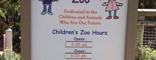 Children's Zoo is one of USA.