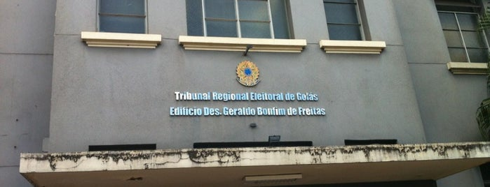TRE-GO - Tribunal Regional Eleitoral de Goiás is one of สถานที่ที่ Rodrigo Taveira ถูกใจ.