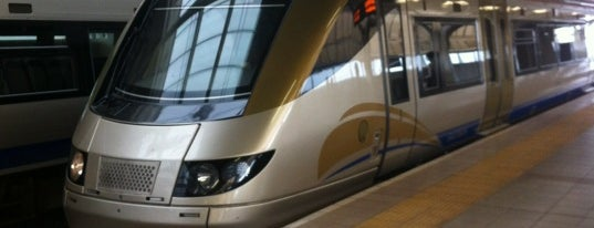 Gautrain OR Tambo International Airport Station is one of Locais curtidos por Aptraveler.