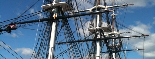 USS Constitution Museum is one of Ships (historical, sailing, original or replica).