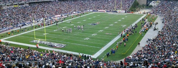 Gillette Stadium is one of US Pro Sports Stadiums - ALL.