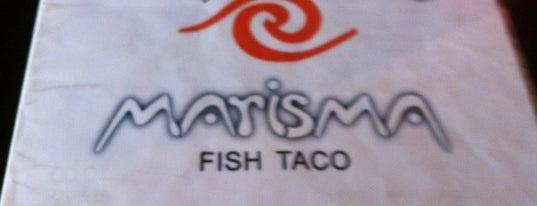 Marisma Fish Taco is one of Puerto Vallarta best mexican popular food.