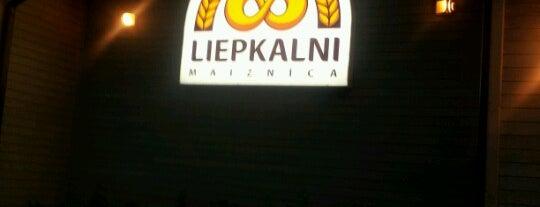 Liepkalni is one of Restorāni,bāri,klubi LV.