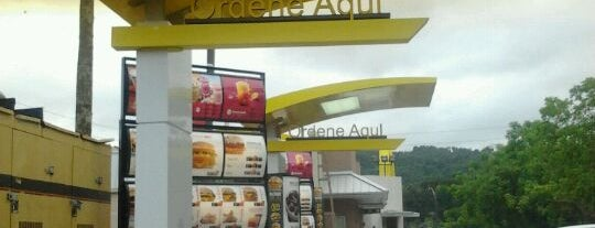 McDonald's is one of Food and Bars.