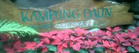 Kampung Daun Culture Gallery & Cafe is one of Bandung Tourism: Parijs Van Java.
