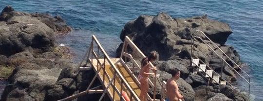 La Scogliera is one of Catania Beaches.