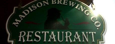 Madison Brewing Company Pub & Restaurant is one of Best Breweries in the World.