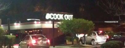 Cook-Out is one of Pablo'nun Kaydettiği Mekanlar.