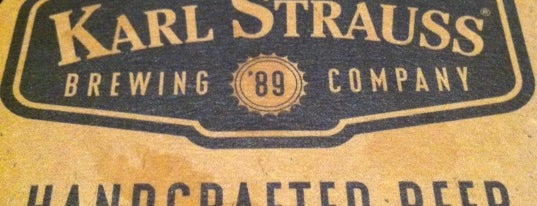 Karl Strauss Brewing Company is one of Craft Beer in LA.