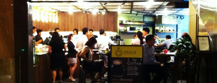 Oriole Espresso & Brew Bar is one of Locais curtidos por cui.