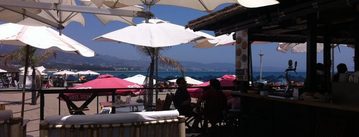 Playa de Puerto Banús is one of Málaga: Coffee, brunch, shopping & chill places!.