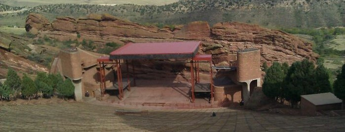 Red Rocks Park & Amphitheatre is one of Attractions Near Embassy Suites Denver Hotel.