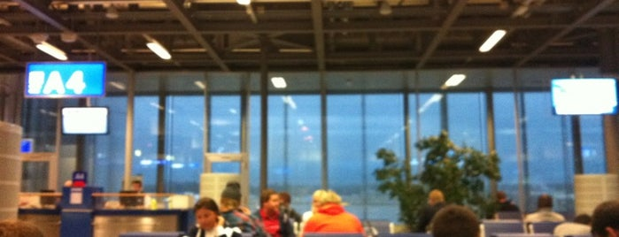 Gate A4 is one of Geneva (GVA) airport venues.