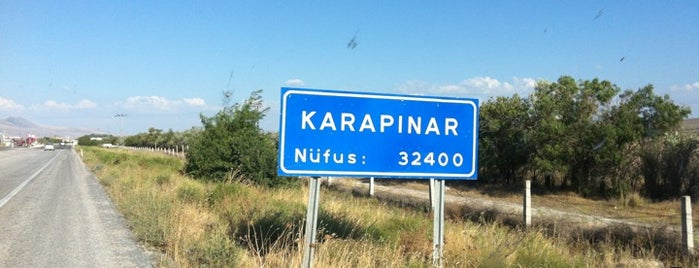 Karapınar is one of Lieux qui ont plu à HAKAN.