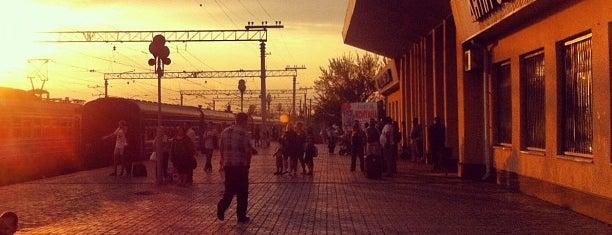 Залізничний вокзал «Кам'янське» is one of Posti che sono piaciuti a Артем.