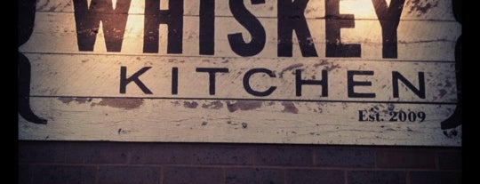 Whiskey Kitchen is one of Locais salvos de Tim.
