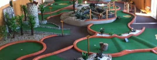 Adventure Minigolf is one of PRAGUE - ENTERTAINING THINGS TO DO.