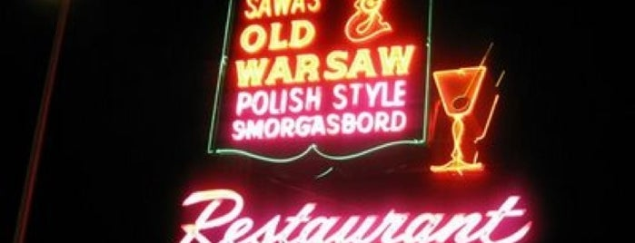 Sawa Old Warsaw Polish Restaurant is one of Jeffさんの保存済みスポット.