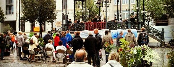 Bloemenmarkt is one of Zondag in Gent.
