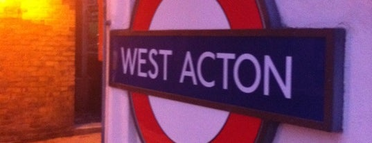 West Acton London Underground Station is one of สถานที่ที่ Alexander ถูกใจ.