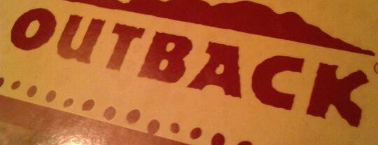 Outback Steakhouse is one of Restaurantes Preferidos.