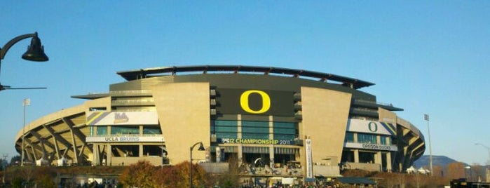 Autzen Stadium is one of Great Sport Locations Across United States.