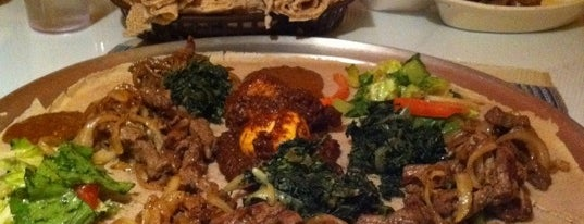 Tana Ethiopian Restaurant is one of Lugares guardados de Justin.