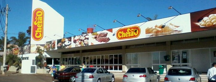 Posto e Churrascaria Chefão is one of Mateusさんのお気に入りスポット.