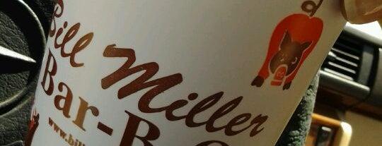 Bill Miller Bar-B-Q is one of Tempat yang Disukai Jennifer.