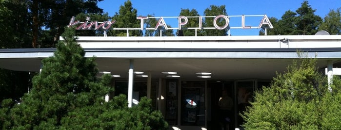 Kino Tapiola is one of The Espoo experience.