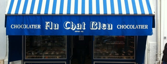 Chat bleu chocolaterie is one of Le Touquet.