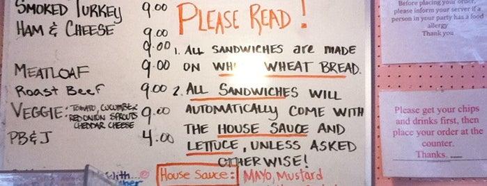 Claudette's Sandwiches is one of Lieux qui ont plu à Andy.