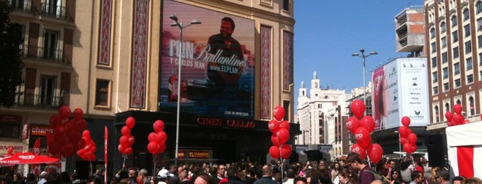 Cines Callao - Callao City Lights is one of Davide 님이 좋아한 장소.