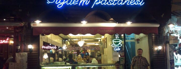 Çiğdem Pastanesi is one of Istanbul 2 of 4 Desserts & Breakfast.