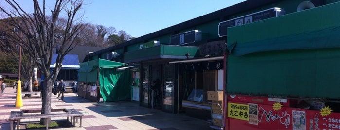 守谷SA (上り) is one of Tempat yang Disukai コマシちゃん.
