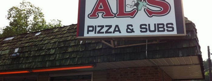 Al's Pizza and Subs is one of Orte, die Emily gefallen.