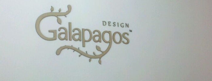 Galapagos Design is one of Lieux sauvegardés par Helton.