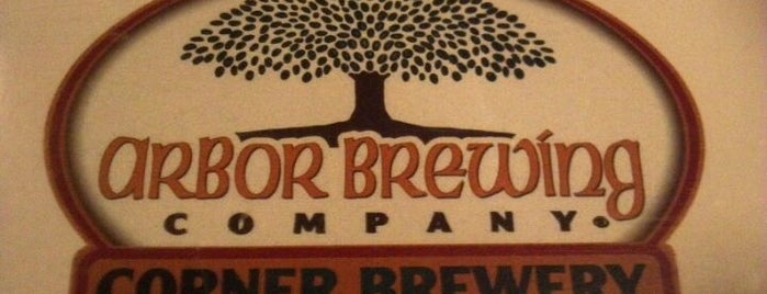 Arbor Brewing Company Microbrewery is one of Breweries to Visit.
