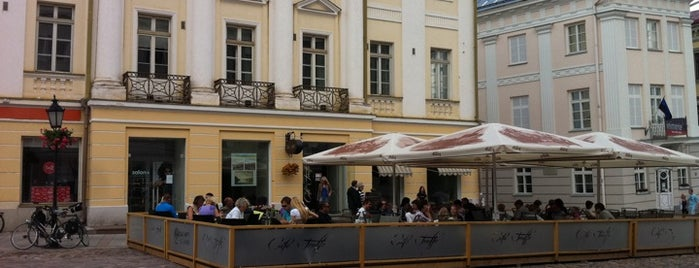 Cafe Truffe is one of My Tartu.