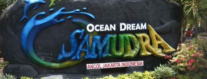 Ocean Dream Samudra (Gelanggang Samudera Ancol) is one of Enjoy Jakarta 2012 #4sqCities.
